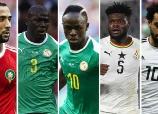 2018 BBC African Footballer of the Year Partey