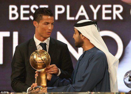 2019 Globe Soccer Awards Cristiano Ronaldo   Airnewsonline