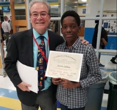 2face Idibia's son bags 'Black Students Achievement Award' in US