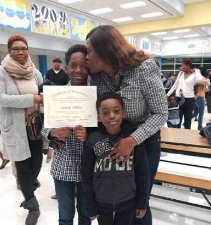 2face Idibia's son bags 'Black Students Achievement Award'