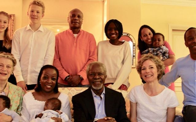 A tribute to Kofi Annan from his family