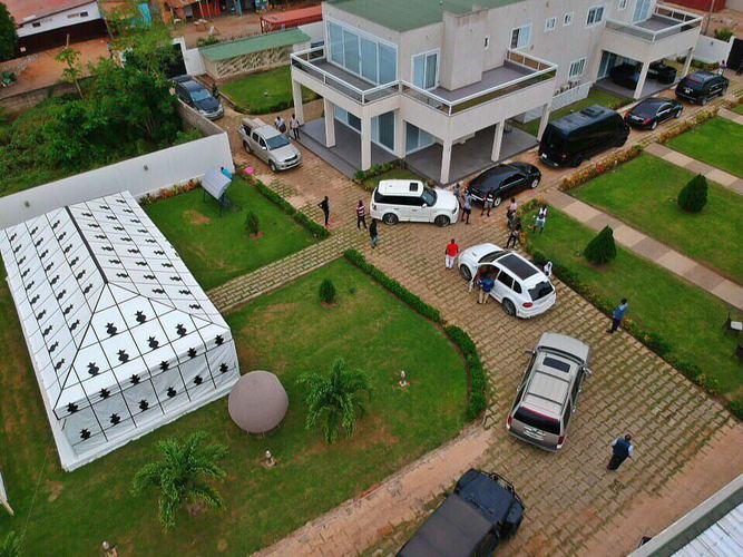 Adebayor mansion