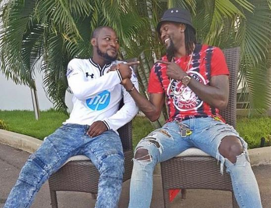 Adebayor showers expensive gifts on Funny Face on his birthday
