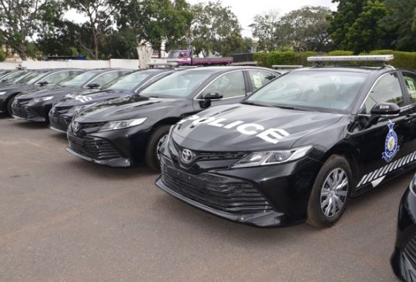 Akufo-Addo presents 200 vehicles to the Ghana Police Service