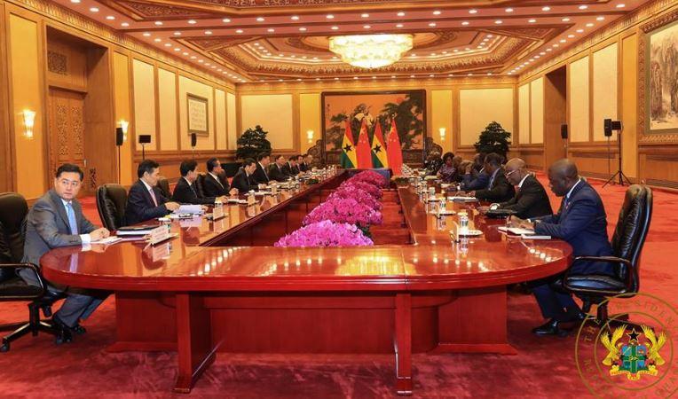 Akufo-Addo signs 2 billion Sinohydro deal in China