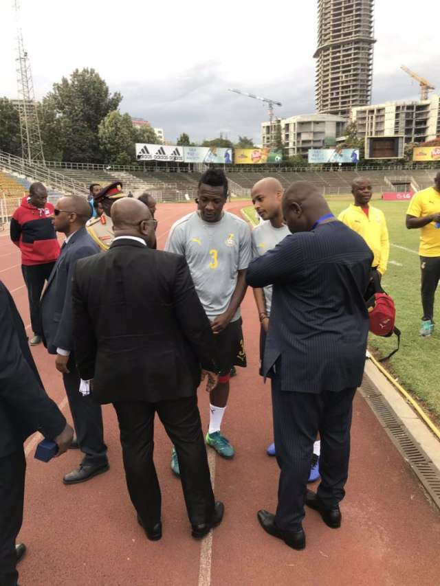 Akufo-Addo visits Black stars airnewsonline