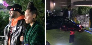 Alicia Keys surprises husband Swizz Beatz with a 2019 Aston Martin for his 40th birthday | Airnewsonline