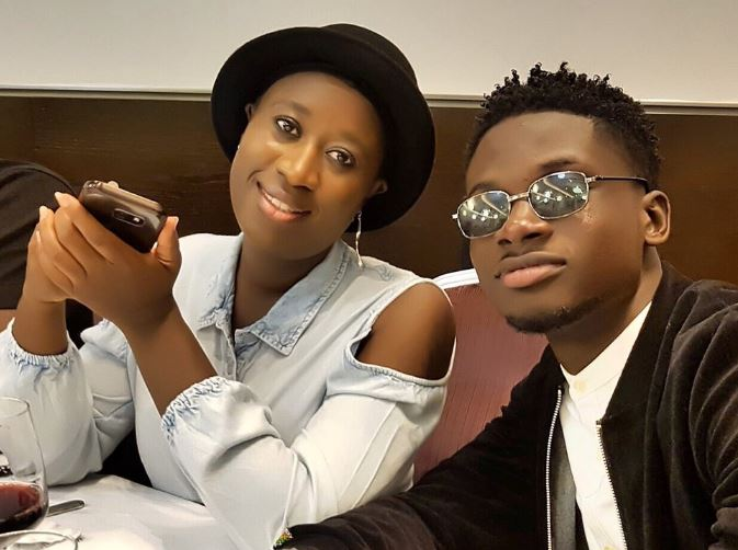 Angela mensah and Kuami Eugene