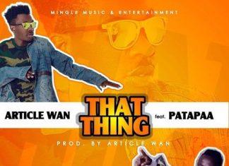 Article Wan ft Patapaa That Thing