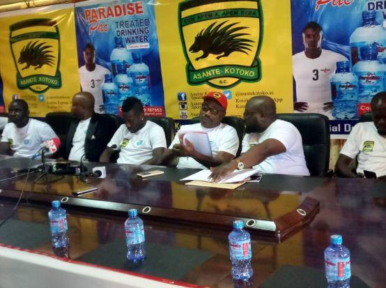 Asante Kotoko seal 2-year sponsorship deal with Asamoah Gyan's Paradise Pac Mineral Water | Airnewsonline