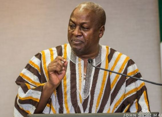 Ask Akufo-Addo to fix your road Mahama tells Church of Pentecost