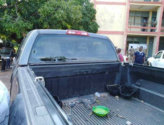 Atebubu-Amantin MCE escapes lynching vehicles vandalized