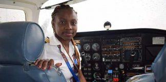 Audrey Esi Swatson youngest commercial pilot ghana | Airnewsonline