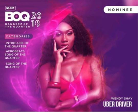 Bangerz of the Quarter Awards Wendy Shay grabs 3 nominations