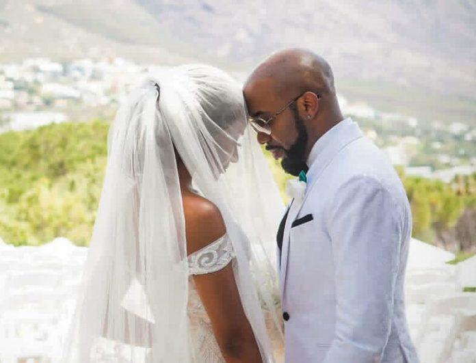 Banky W and Adesua Etomi wedding anniversary