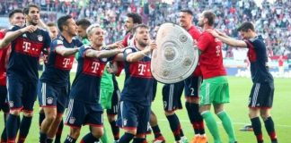 Bayern munich wins bundesliga
