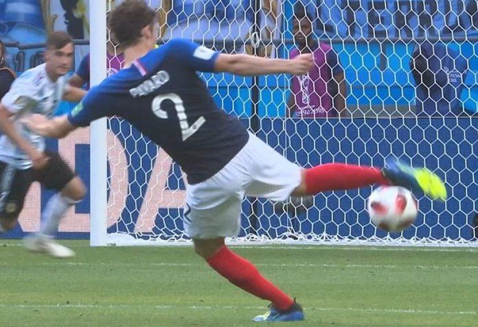 Benjamin Pavard wins World Cup 2018 best goal