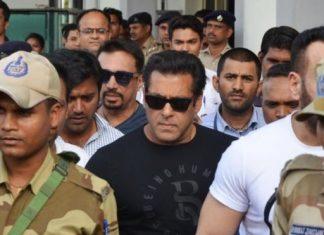 Bollywood star Salman Khan