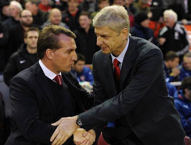 Brendan Rodgers and Wenger