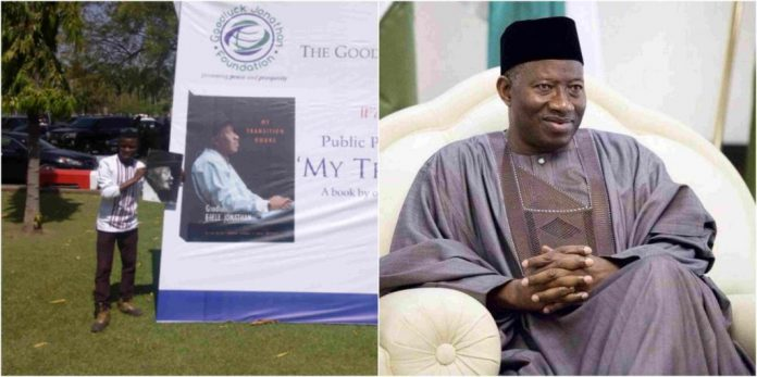 Bright Kpoha draws goodluck jonathan