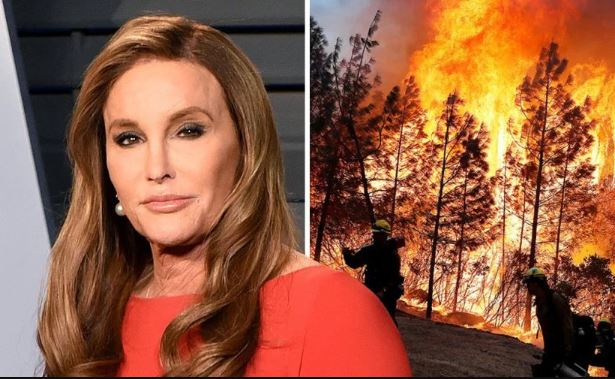 Caitlyn Jenner's Malibu house destroyed in California wildfire