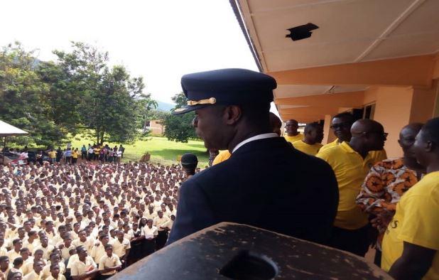 Captain Solomon Quainoo visits Alma Mater Koforidua SECTEC