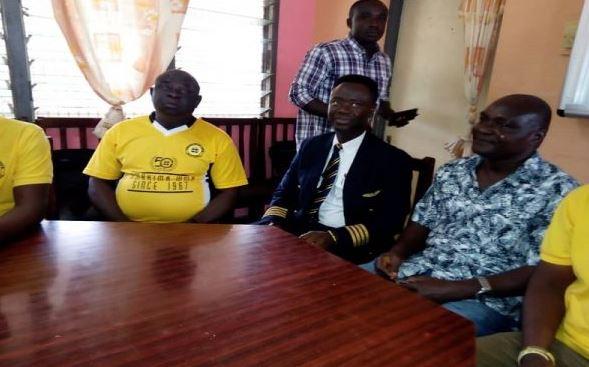 Captain Solomon Quainoo visits Alma Mater Koforidua Secondary Technical School