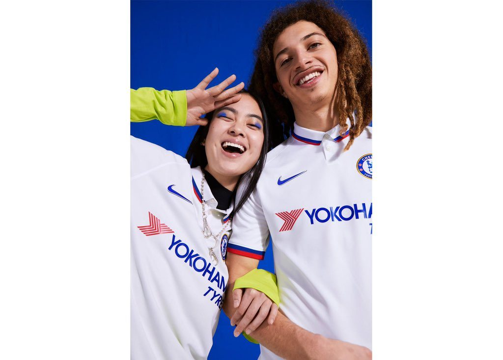 Chelsea Reveal 'Mod Style' White Away Kit For 2019/20