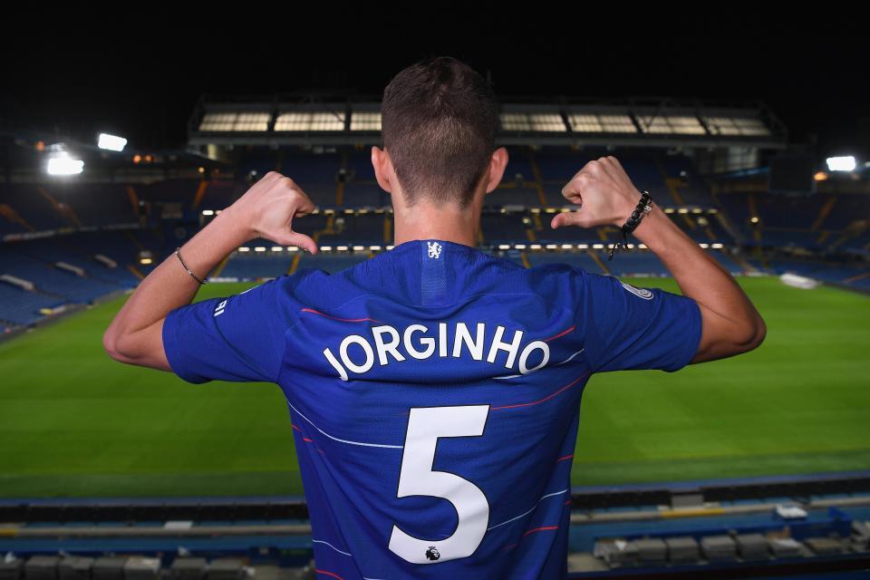 Chelsea sign Jorginho