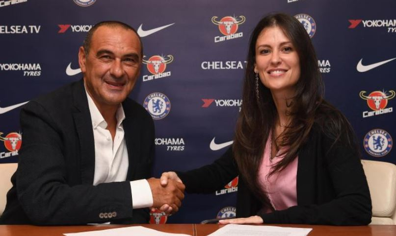 Chelsea sign Sarri