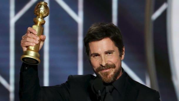 Christian Bale thanks Satan Golden Globes Awards   Airnewsonline