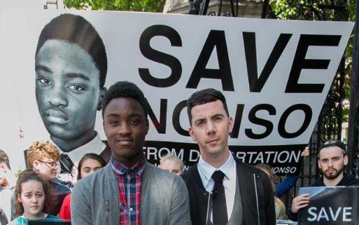 Classmates prevent Nigerian boy's deportation from Ireland airnewsonline