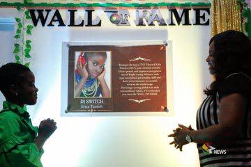 DJ Switch immortalized on Media General's Wall Of Fame