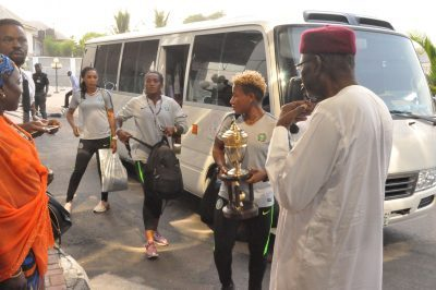 Dangote gifts Super Falcons
