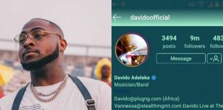 Davido instagram followers   Airnewsonline