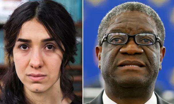 Denis Mukwege and Nadia Murad win 2018 Nobel Peace Prize