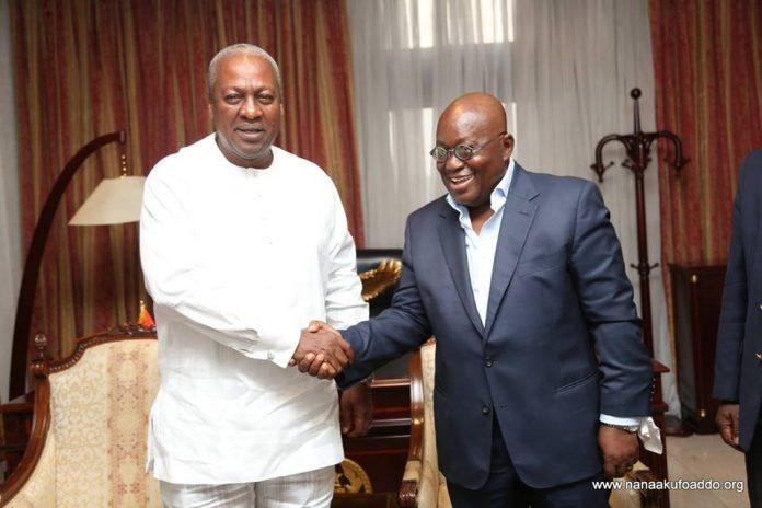 Election 2020 John Mahama begs Akufo-Addo