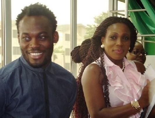 Essien still married to Akosua Puni Family debunks divorce rumours   Airnewsonline