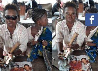Fake blind beggar exposed