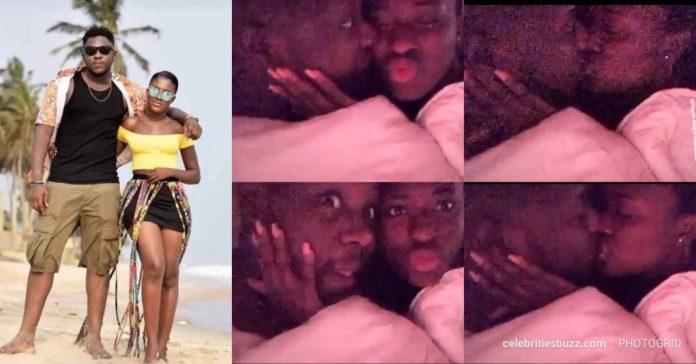 Fella makafui and medikal making love