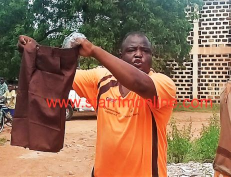 GES storekeeper caught stealing free school uniforms airnewsonline