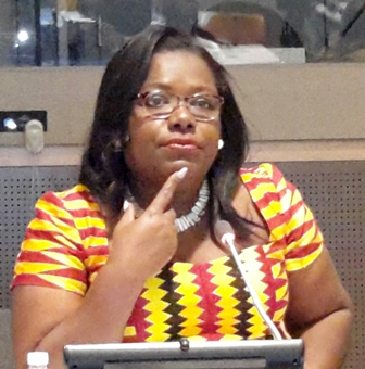 Gender Minister Nana Oye Lithur