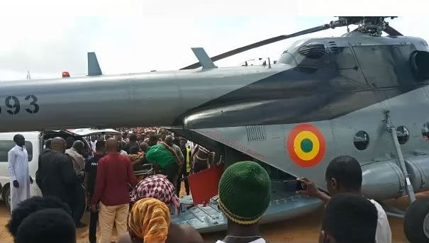 George Andah involved in car crash flown to Accra airnewsonline