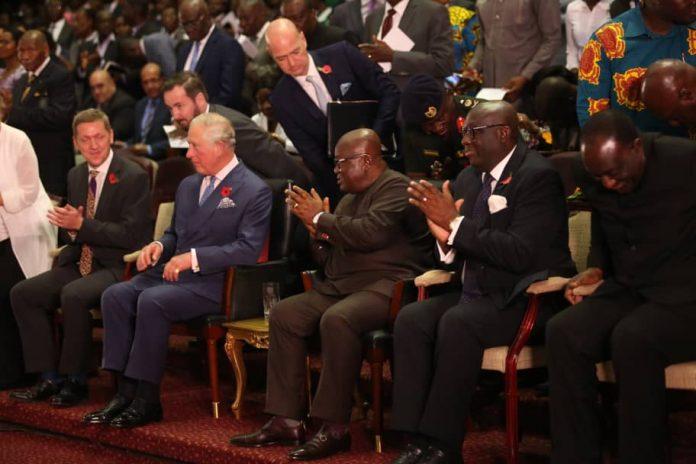 Ghana's democracy shining example Prince Charles