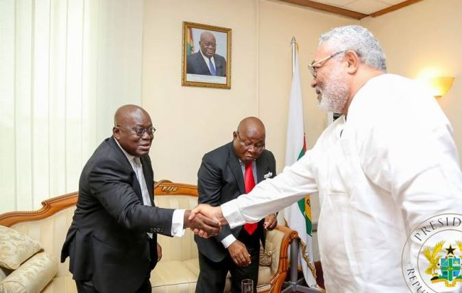 Ghana fortunate to have Akufo-Addo as president Rawlings | Airnewsonline