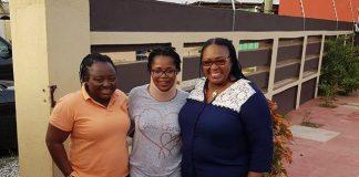 Gifty Oware Aboagye Mzbel and Tina Mensah