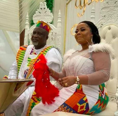 Gifty osei and Hopeson Adorye wedding