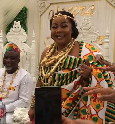 Gifty osei wedding pictures | Airnewsonline