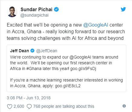 Google Africa AI