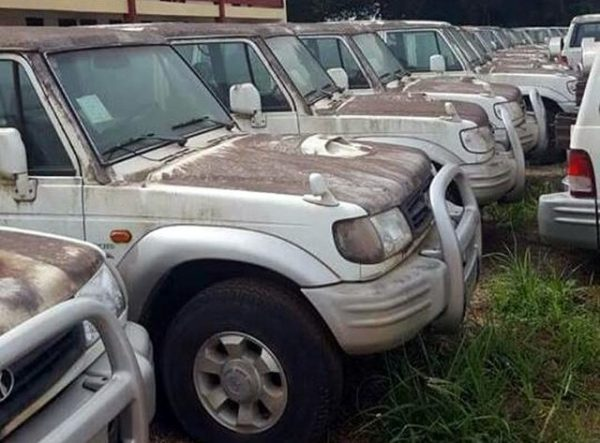 Govt auction 17-year-old abandoned state vehicles
